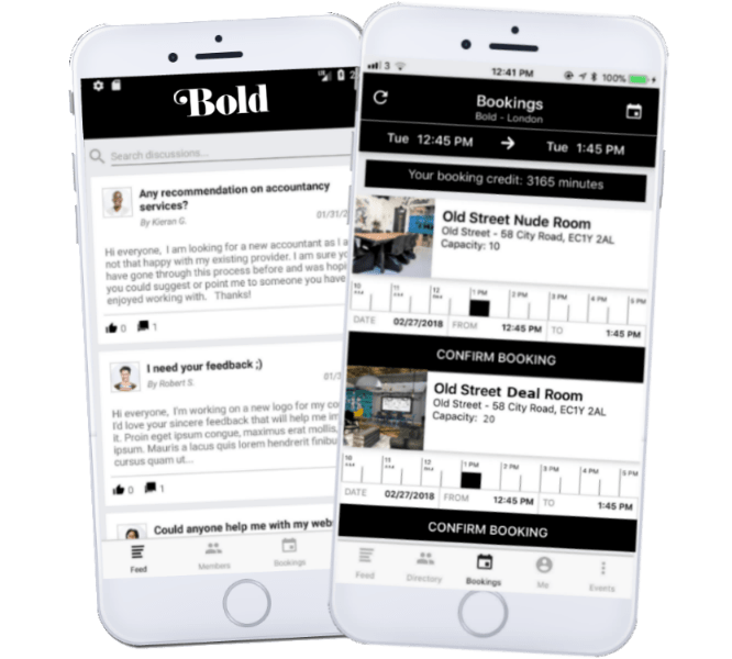 Bold Members App
