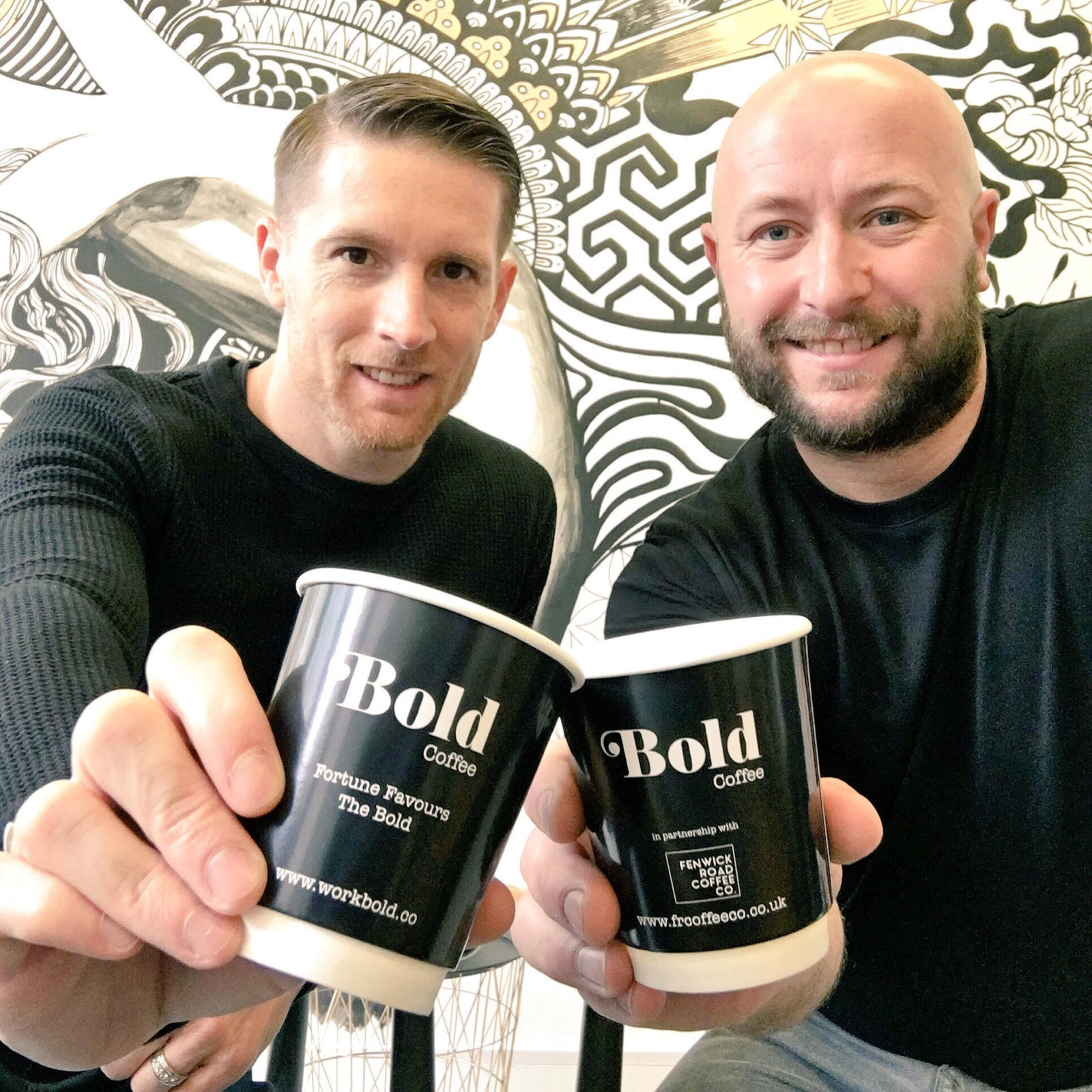 Cheers to Bold Coffee